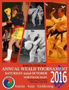 Karate - Annual Weald Tournament @ Pretious Sports Hall